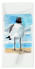 Bird Legs Bath Towel