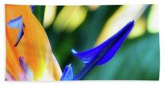 Bird Of Paradise Flower Hand Towel