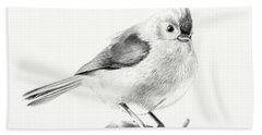 Bird On A Branch Hand Towel by Eleonora Perlic