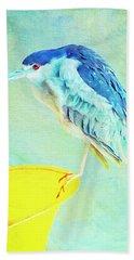 Bird On A Chair Bath Towel