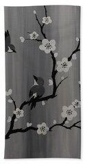 Birds And Blossoms Bath Towel