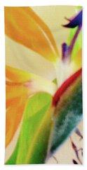 Birds Bromeliads Halyconia 2 Hand Towel