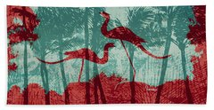 Hand Towel featuring the photograph Tropical Paradise by Linda Weinstock
