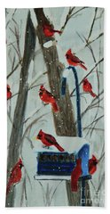 Birds Of A Feather Bath Towel