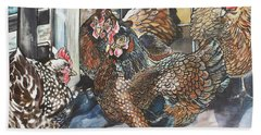 Birds Of A Feather Hand Towel