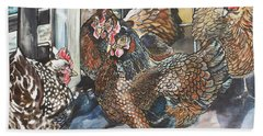 Birds Of A Feather Hand Towel by Stephanie Come-Ryker