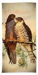 Birds Of Prey 4 Hand Towel by Charmaine Zoe