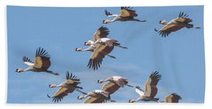 Birds Of The Same Feather. Hand Towel