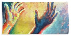 Birth Of Adam Hand Towel