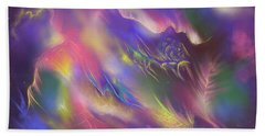 Hand Towel featuring the digital art Birth Of The Phoenix by Amyla Silverflame