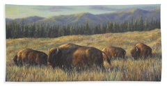 Bison Bliss Hand Towel