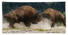Bison Duel Hand Towel