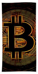 Bitcoin Hand Towel