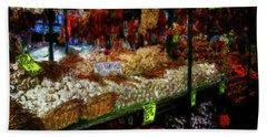 Biward Market Garlic Bath Towel