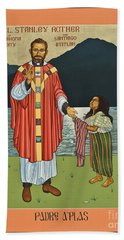 Bl. Stanley Rother - Lwsro Bath Towel