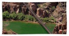 Black Bridge, Grand Canyon  Hand Towel