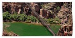Black Bridge, Grand Canyon  Bath Towel