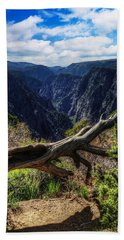 Black Canyon Of The Gunnison First Look Hand Towel