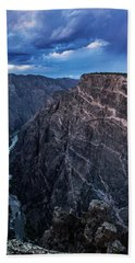 Black Canyon Of The Gunnison National Park Hand Towel