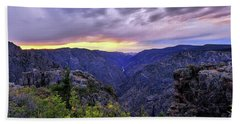 Black Canyon Sunset Hand Towel