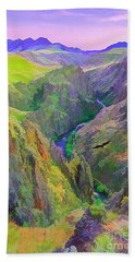 Black Canyon Hand Towel
