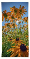 Black-eyed-susans Bask In The Sun Hand Towel
