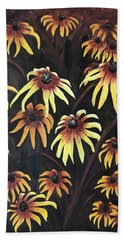 Black Eyed Susie Hand Towel