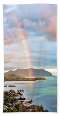 Black Friday Rainbow Hand Towel by Dan McManus