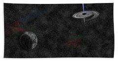 Black Hole Bath Towel