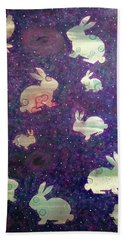 Black Holes And Bunnies Hand Towel