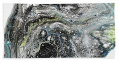 Black Ice 3 Bath Towel