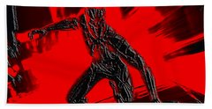 Black Panther 1b Hand Towel