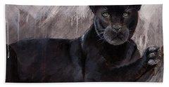 Black Panther  Hand Towel