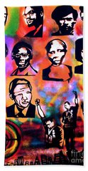 Black Revolution Hand Towel