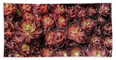 Black Roses Bath Towel