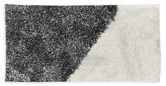Black Rug Hand Towel