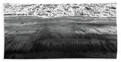 Black Sands  Bath Towel