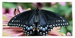 Black Swallowtail 3 Bath Towel