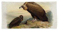 Black Vulture By Thorburn Hand Towel