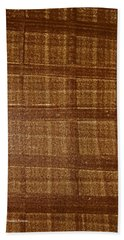 Black Walnut Ink Drawing Bath Towel by Tom Janca