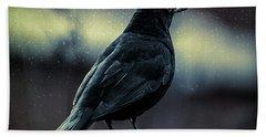 Blackbird Hand Towel