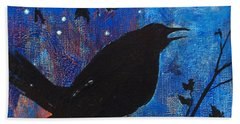 Blackbird Singing Hand Towel