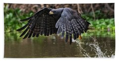 Hand Towel featuring the photograph Blackhawk Fishing #1 by Wade Aiken