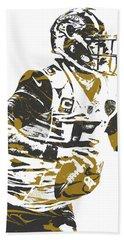 Blake Bortles Jacksonville Jaguars Pixel Art 10 Hand Towel