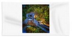 Bath Towel featuring the photograph Blakes Pond House by Thom Zehrfeld