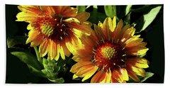 Blanket Flowers - Gaillardia Hand Towel