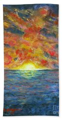 Blazing Glory Hand Towel