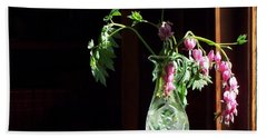 Bleeding Heart Bouquet Hand Towel by Joy Nichols