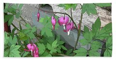 Bleeding Hearts Hand Towel