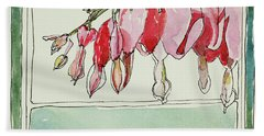 Bleeding Hearts II Hand Towel